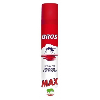 Spray Max na komary i kleszcze 90 ml BROS